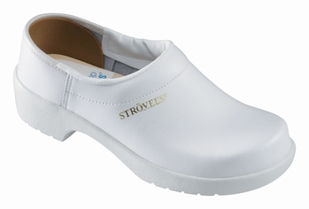 !OUTLET! Strovels quality clogs klompen 805 pro wit