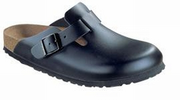 OUTLET! Birkenstock slippers Boston Zwart