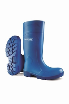 Dunlop wellington working boots purofort  CA 61631 Blue