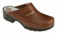 !OUTLET! Strovels quality clogs klompen 501 bruin