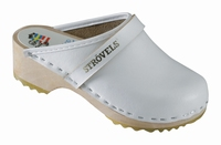 !OUTLET! Strovels quality clogs klompen 301 wit