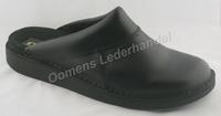Oase leather slippers 5010 Black