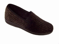 !OUTLET! Oase pantoffels ribcord 7359 Bruin