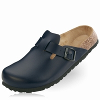 OUTLET! Betula slippers Rock leer blauw